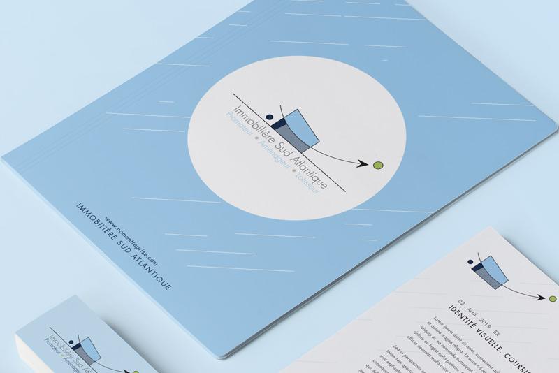 Brochure pour la société Immobilière Sud Atlantique