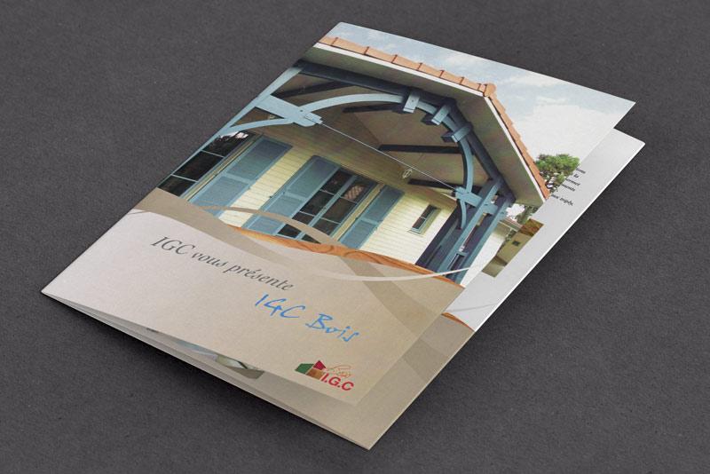 brochure IGC bois, couverture