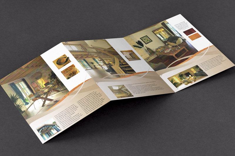 IGC bois, intérieur de la brochure