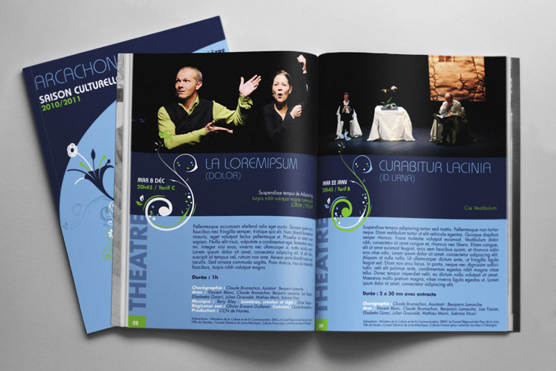 magazine du théâtre de l'olympia à Arcachon