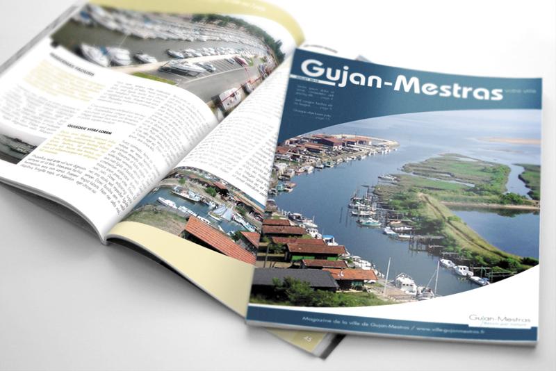 magazine pour la ville de Gujan-Mestras