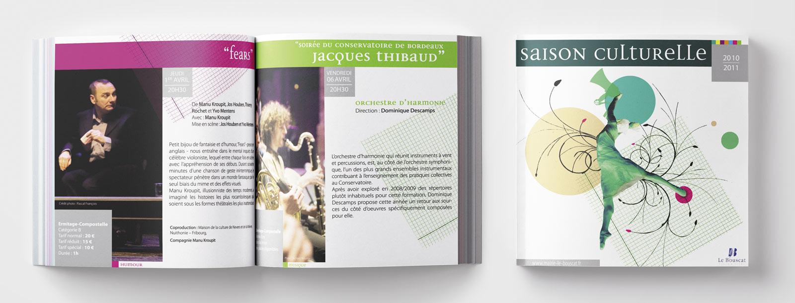 magazine culturel pour le Bouscat