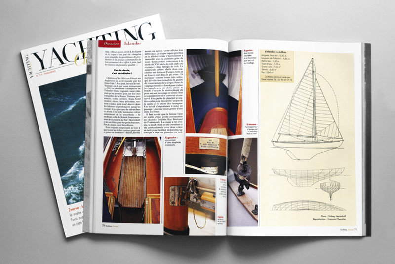Edition Van de Velde - Yachting Classique, pages intérieures