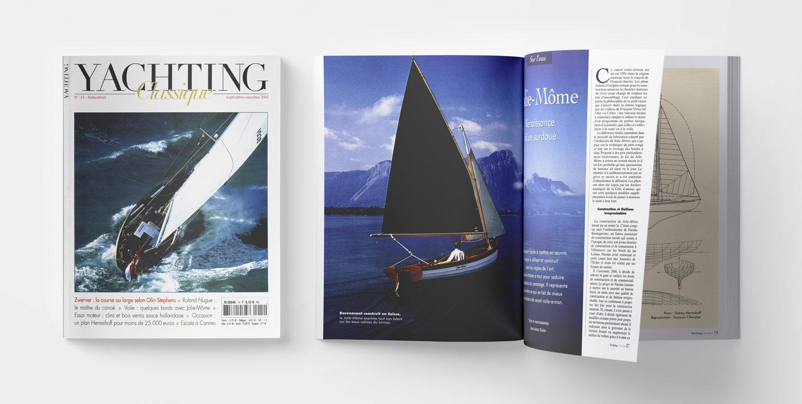 revue Yachting Classique des Editions Van de Velde