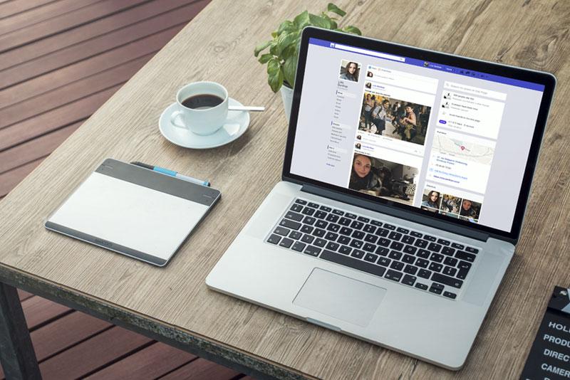 """page d'entrée d'un réseau social """"Nous"""" pour la série télévisée """"Alexandra Elhe"""" épisode 4 passant sur France Télévisions"""
