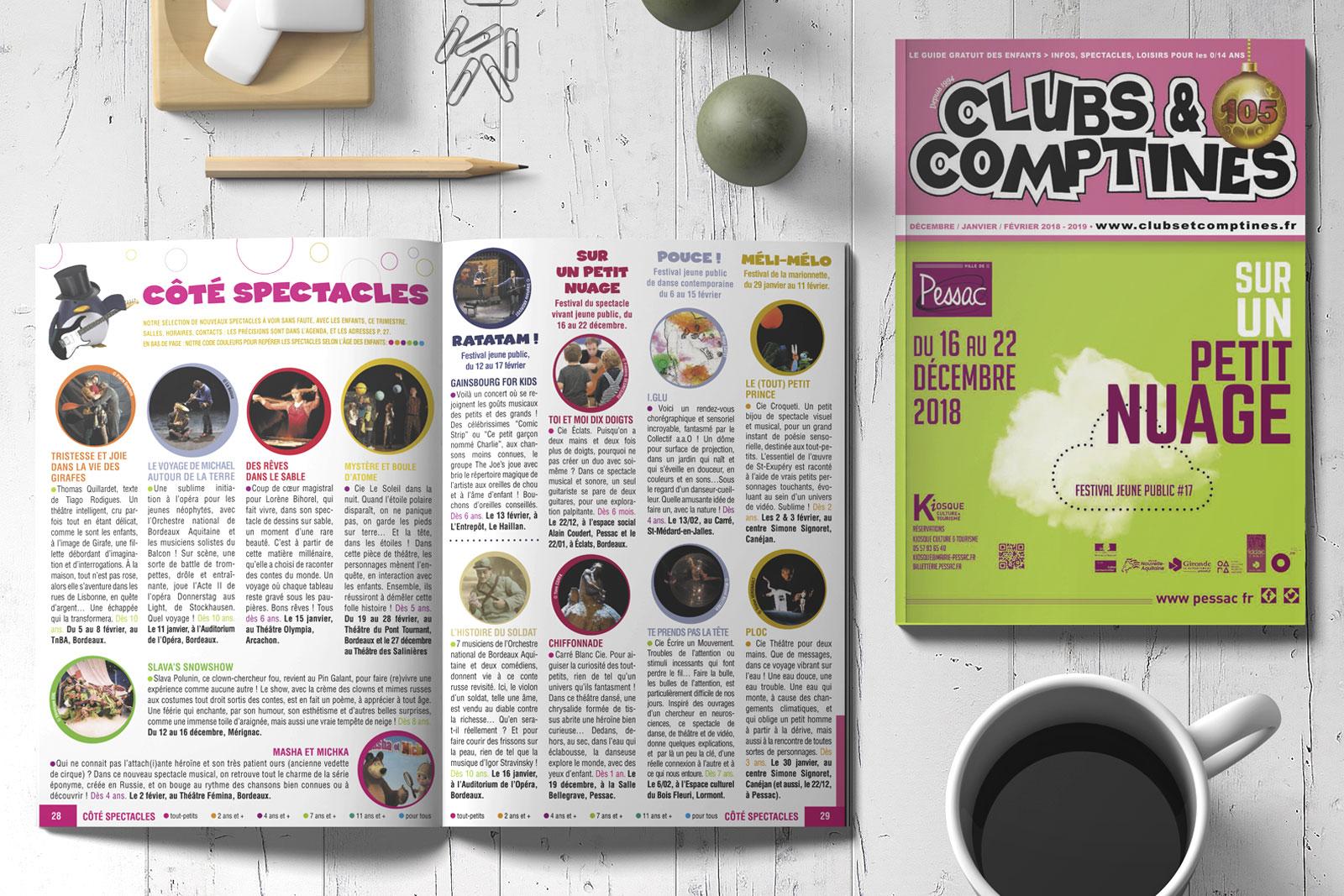 Magazine Clubs et Comptines