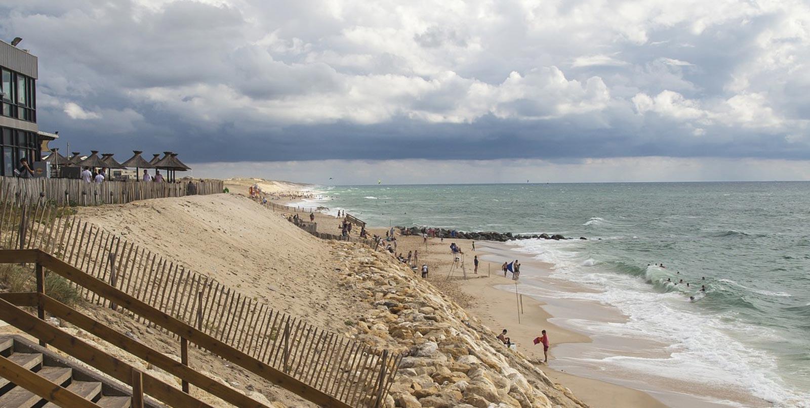 Lacanau la plage n'existe presque plus - ancorim